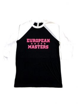 European Masters Kids Baseball-Shirt PINK