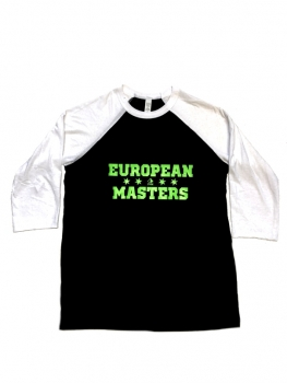 European Masters Kids Baseball-Shirt GREEN